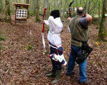 Compagnie des Archers de Bourbons Tir à l'arc pleine nature Ⓒ Compagnie des Archers de Bourbons