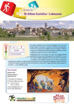 Randoland | St Alban Auriolles - Labeaume - Saint-Alban-Auriolles