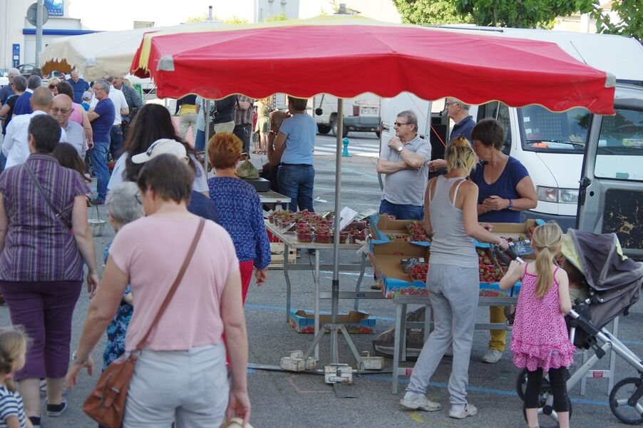 Marché hebdomadaire - Rochemaure