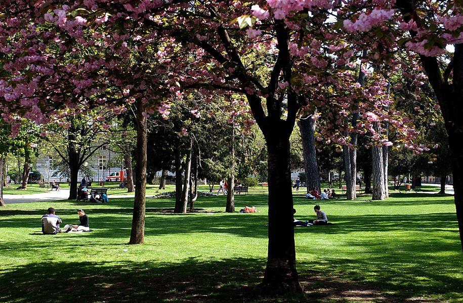 Le Parc du Verney à Chambéry