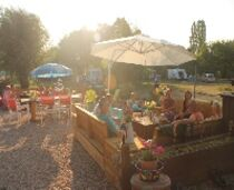 Camping Domaine Sainte-Marie Bar en terrasse Ⓒ Site internet - 2020