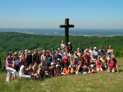 Croix de la Dent à St Martin du Mont