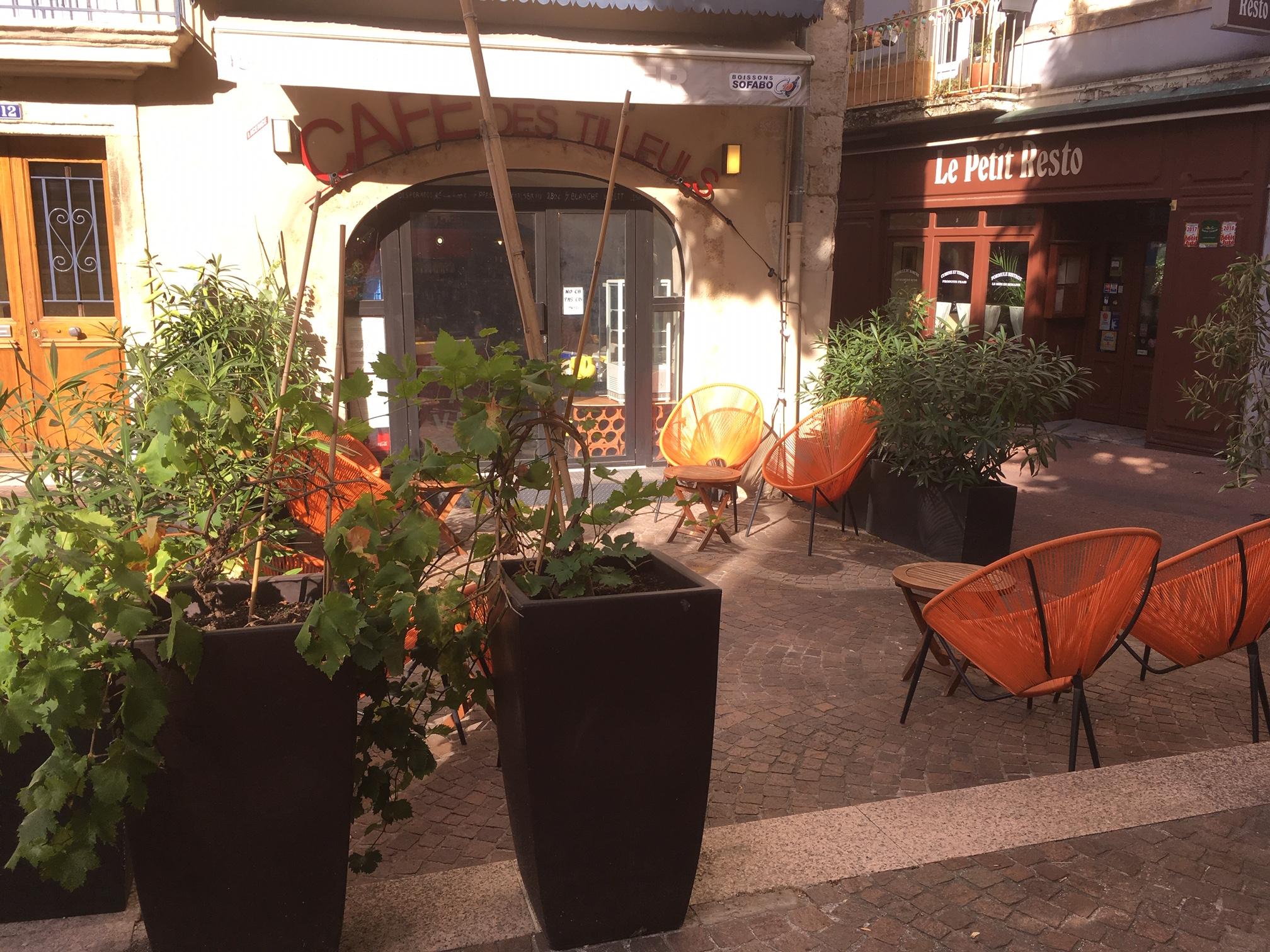 Les restaurants à Privas : Café des Tilleuls