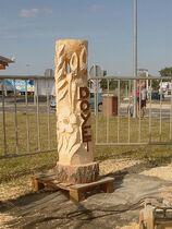 Création Arawak - Andelaroche Sculpture doyet Ⓒ Création Arawak