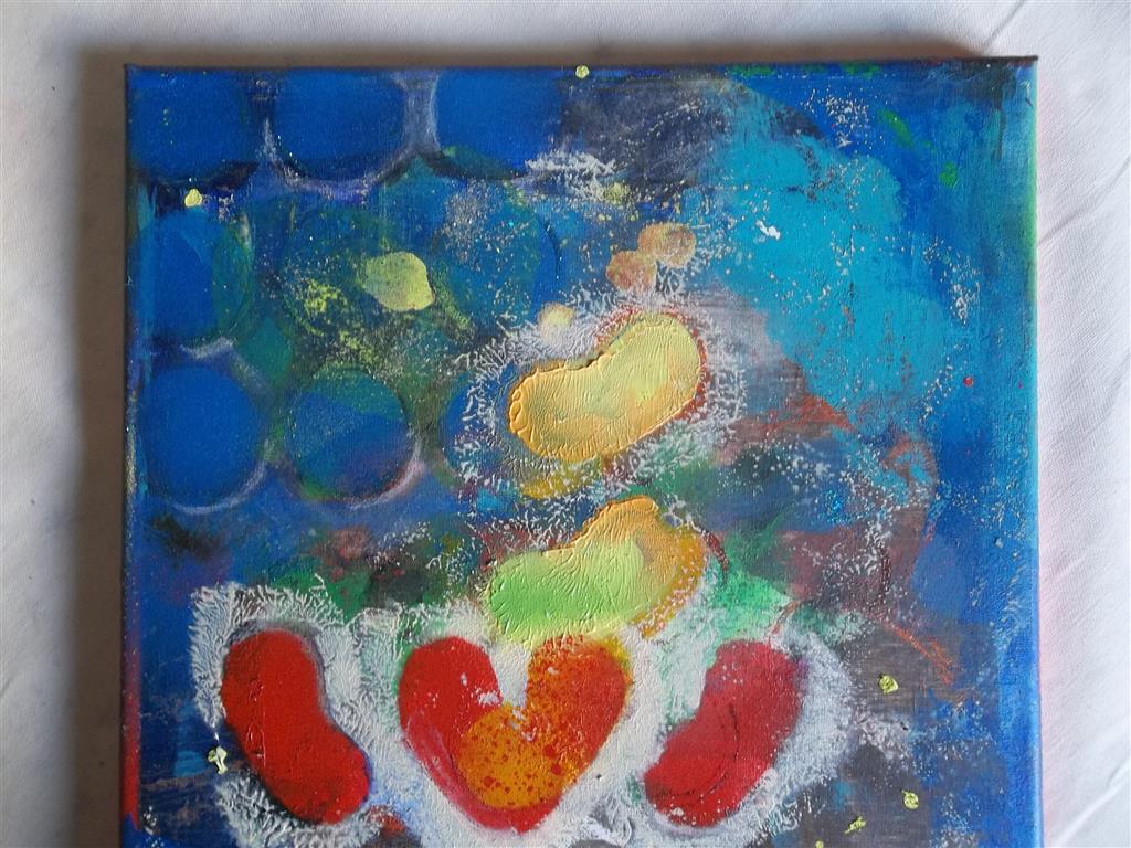 Peinture expressive Ⓒ CoLLoT D2L