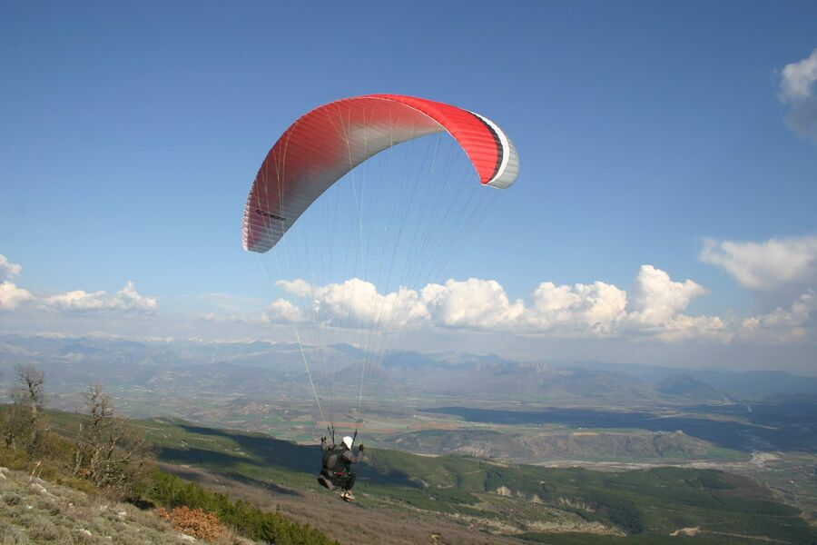 Championnat de parapente Ozone Chabre - � Office de Tourisme Sisteron Buëch