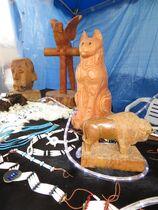 Création Arawak - Andelaroche Sculptures bois Ⓒ Création Arawak