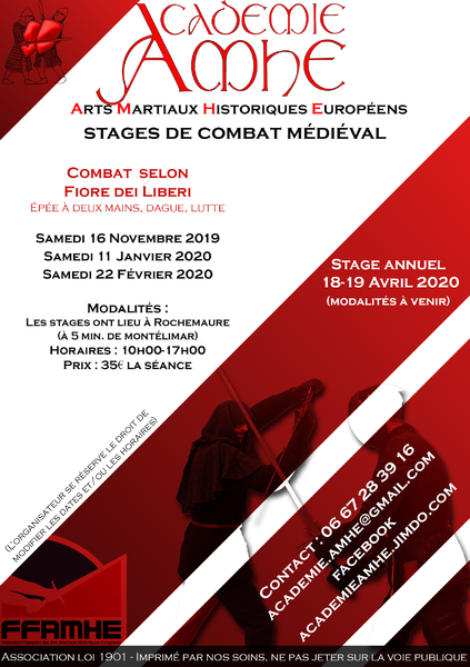 Stage de combat médiéval - Rochemaure