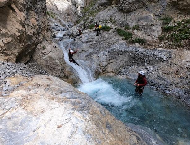 Toboggan canyon - © Maloya canyon aventure