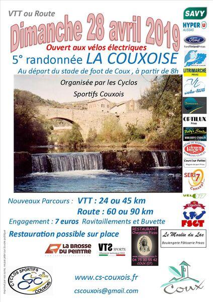 La Couxoise Route & VTT  #5 - Coux