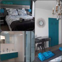 Chambre Riviera Ⓒ Philippe Bassot