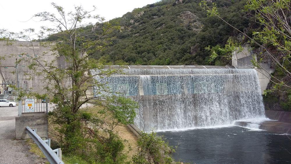 Visite du barrage de Pont de Veyrières - Meyras