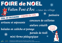 Village de Noël - Vallon-Pont-d'Arc