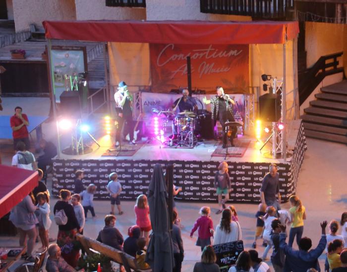 concert - � Les Orres