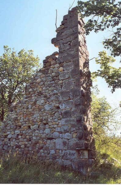 vestige du château
