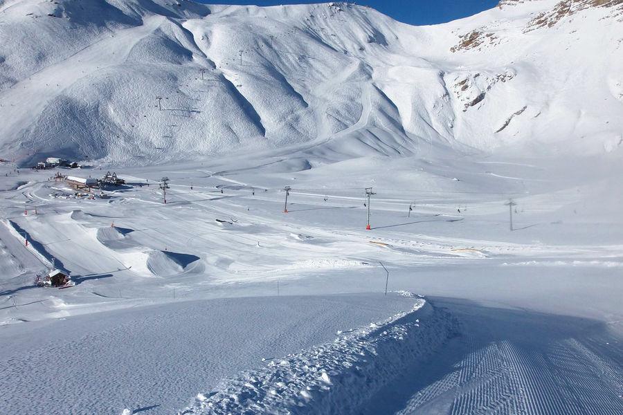 Snowpark d'Orcières Merlette 1850 - © Romain Kaminski