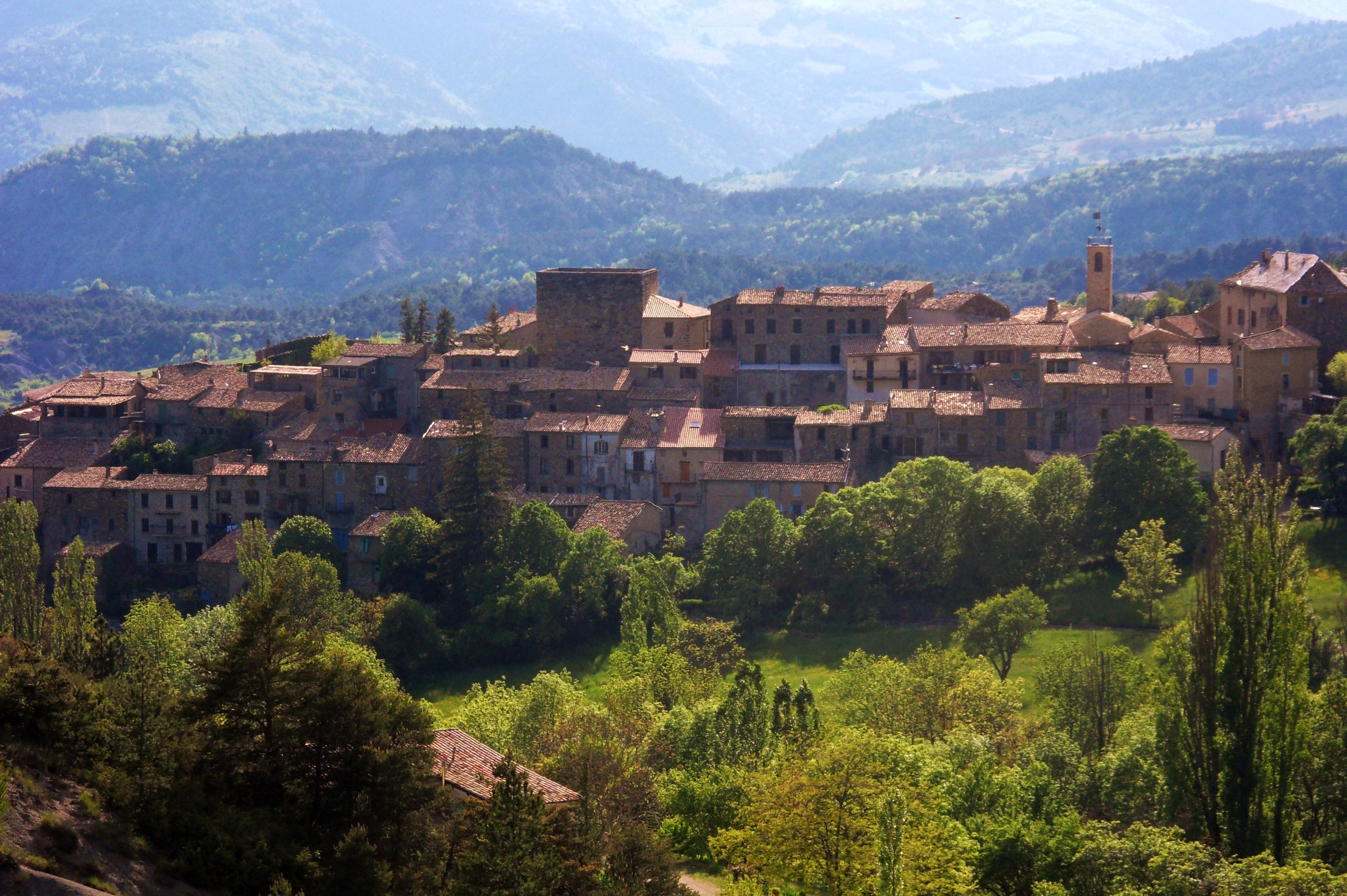 Village de Rosans