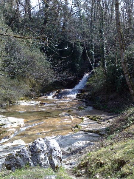 La 1ère cascade de Jacob au printemps.
