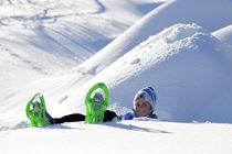 Raquettes à neige, boucle à Champoléon - © T. Hytte - S. Cervos