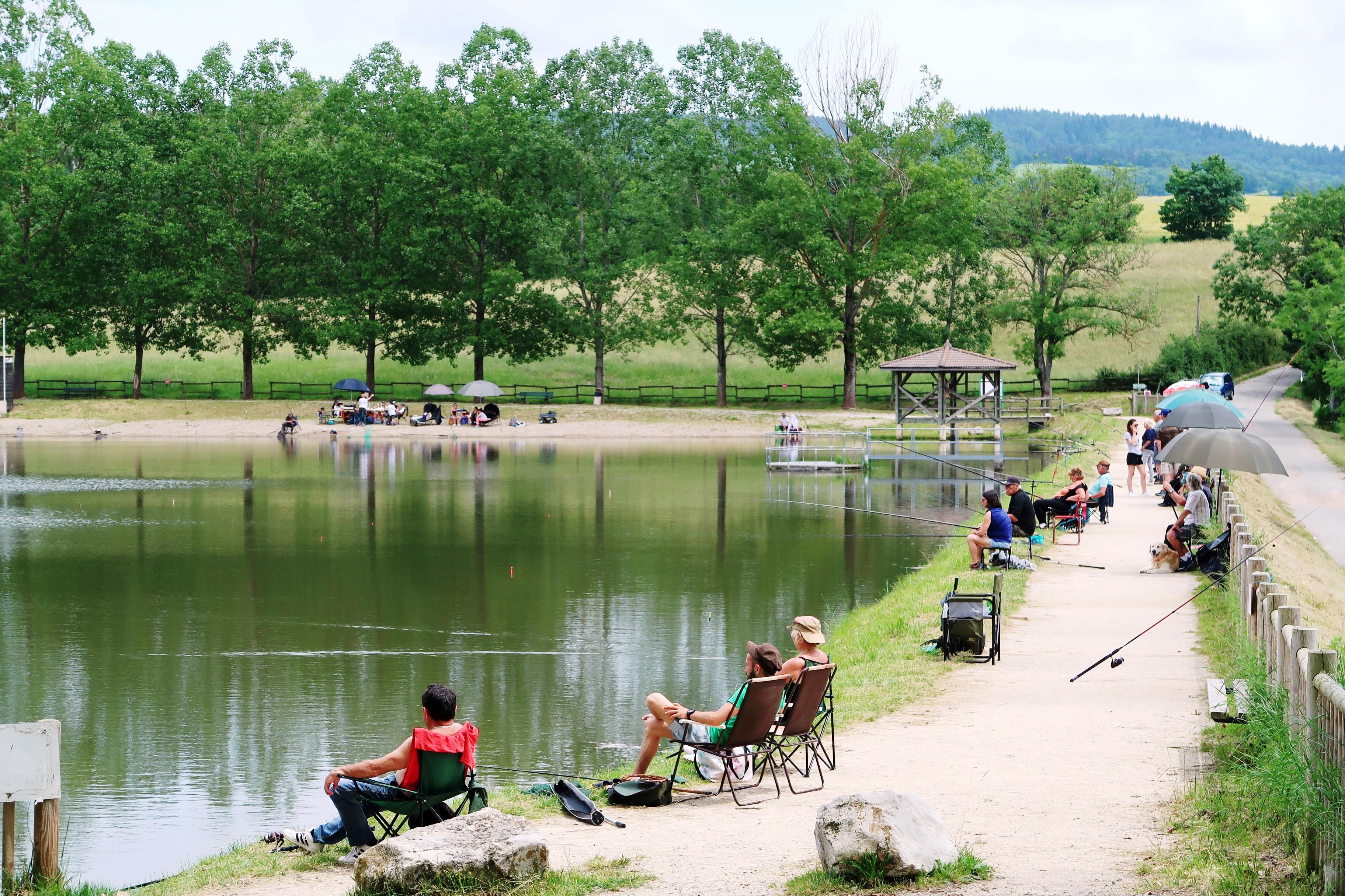 Concours de pêche réservé aux enfants de -15 ans.