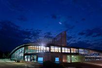 Centre aqualudique de la Loue Extérieur  de nuit Ⓒ Centre aqualudique -  2012