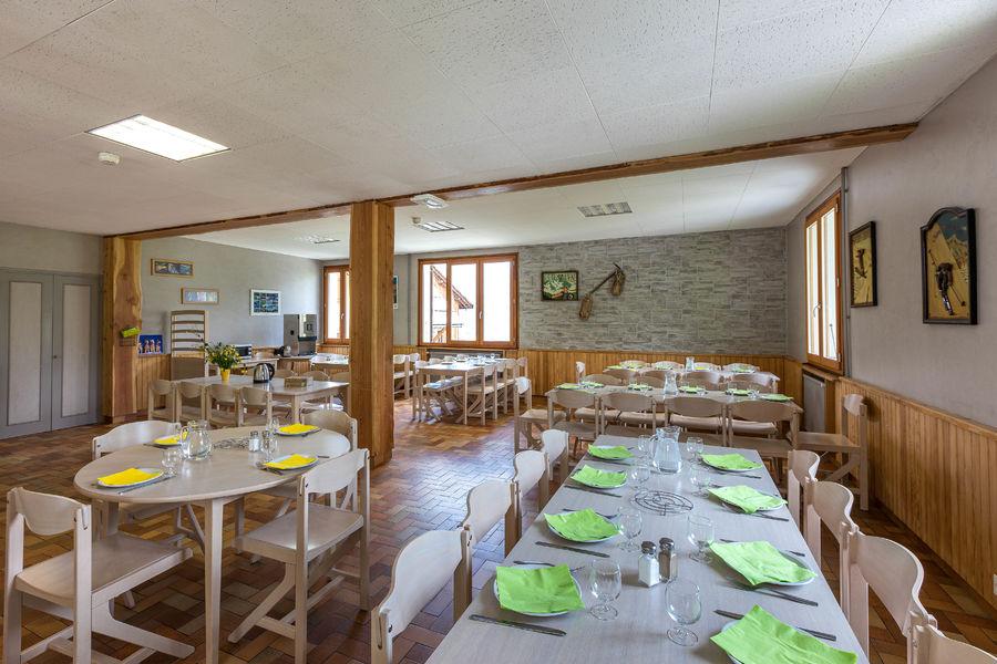 Salle à manger Le Mélézin - © Le Mélézin