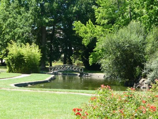Parc St-Jean - Montluçon Parc Ⓒ Service Espaces Verts Desertines