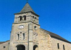 Église - St-Marcel-en-Marcillat Clocher Ⓒ Mairie St-Marcel-en-Marcillat