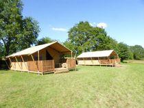Camping Mathonière Les safari-lodge-tentes Ⓒ Camping Mathonière