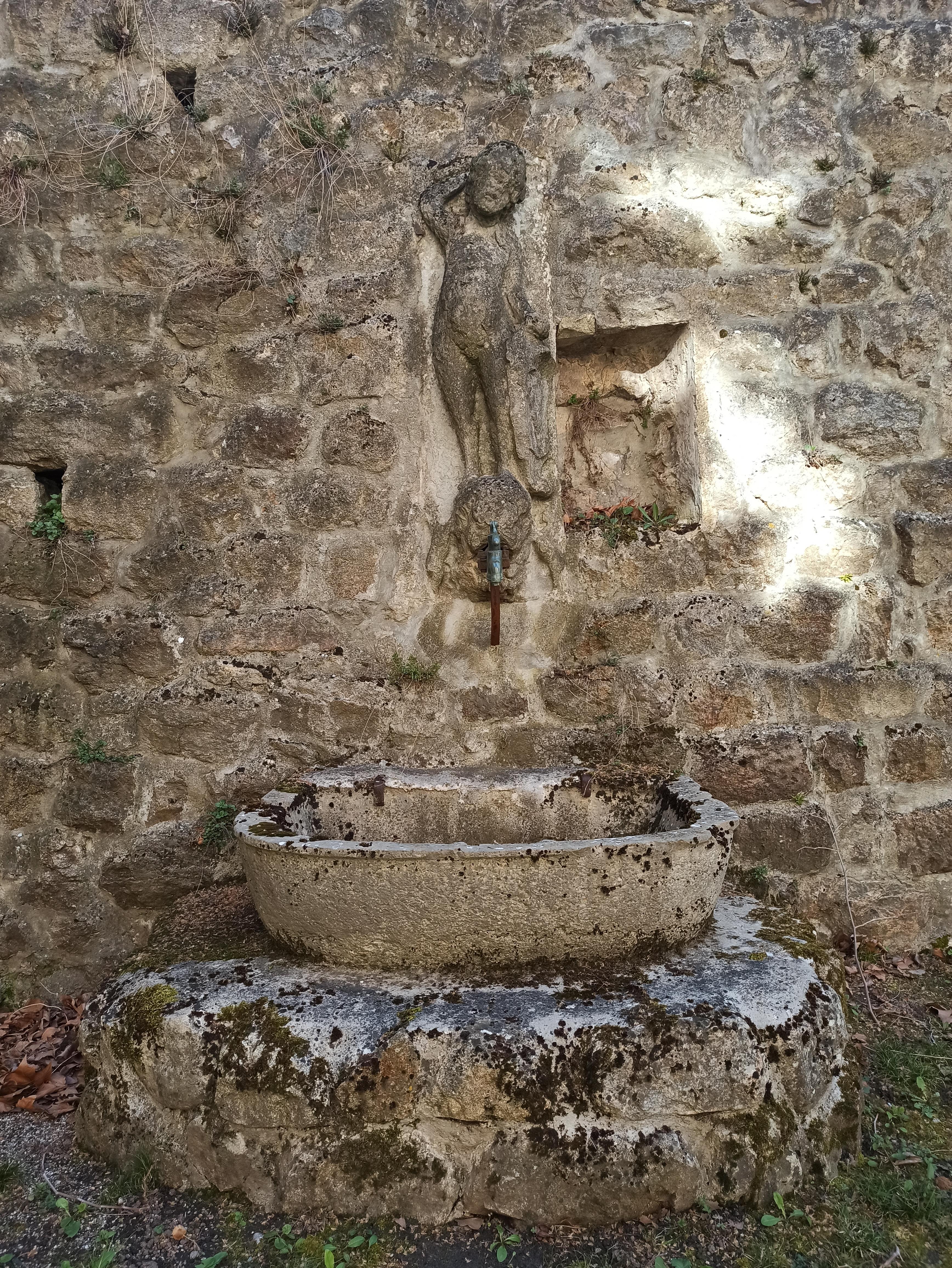 Fontaine de la renaissance (Satillieu,Ardèche), Historic si