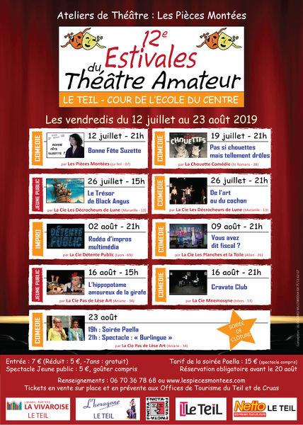 12èmes Estivales du Théâtre Amateur - Le Teil