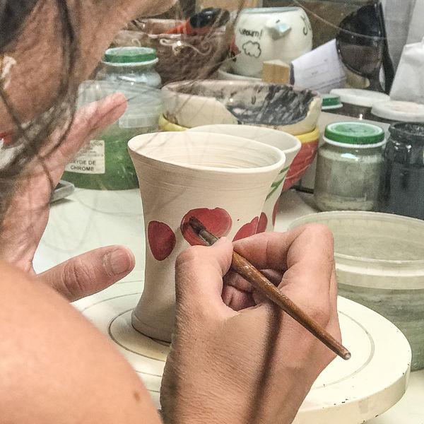 Découverte et initation à la poterie - Andance