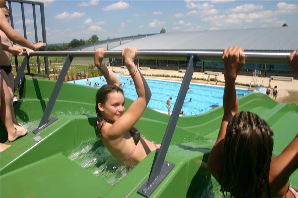 Centre aqualudique de la Loue Toboggan pentagliss Ⓒ Centre aqualudique - 2012