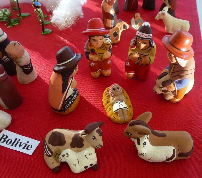 Exposition crèches du monde - � Office de Tourisme Sisteron Buëch
