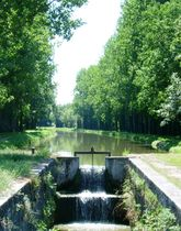 Musée du Canal de Berry Écluse Ⓒ Musée du Canal de Bery