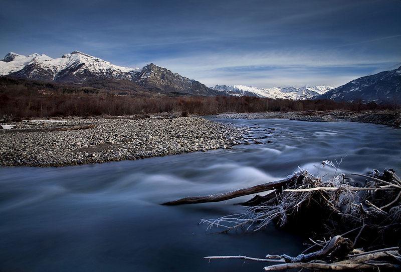 Le Drac en hiver - © Dyonis