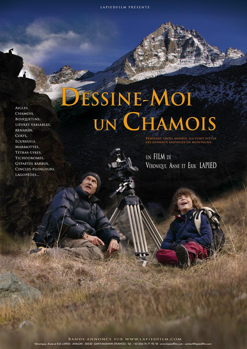 Cinéma de montagne - dessine-moi un chamois
