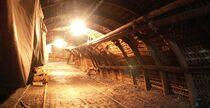 Musée Mine Noyant Reconstitution mine Ⓒ Les Amis de la Mine