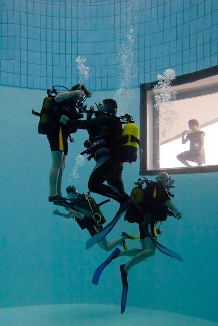 Centre aqualudique de la Loue Fosse de plongée Ⓒ Centre aqualudique - 2012