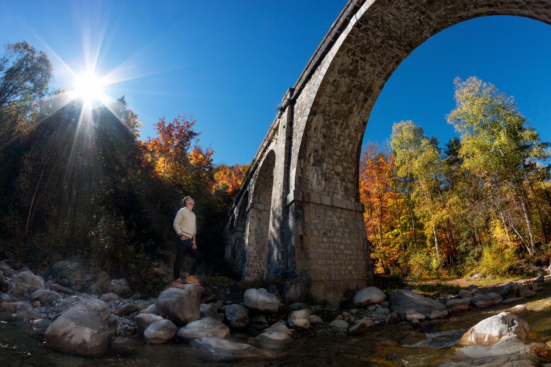 Sentier du Pont blanc : Aqueduc des Gorges d'Ancelle