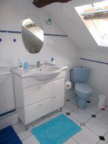 Salle de bain du haut  Ⓒ Gîtes de France