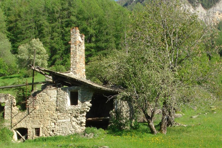 Coste Belle, Pont du Fossé, vallée du Champsaur