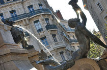 Fontaine des 3 ordres © Service photos Ville de Grenoble
