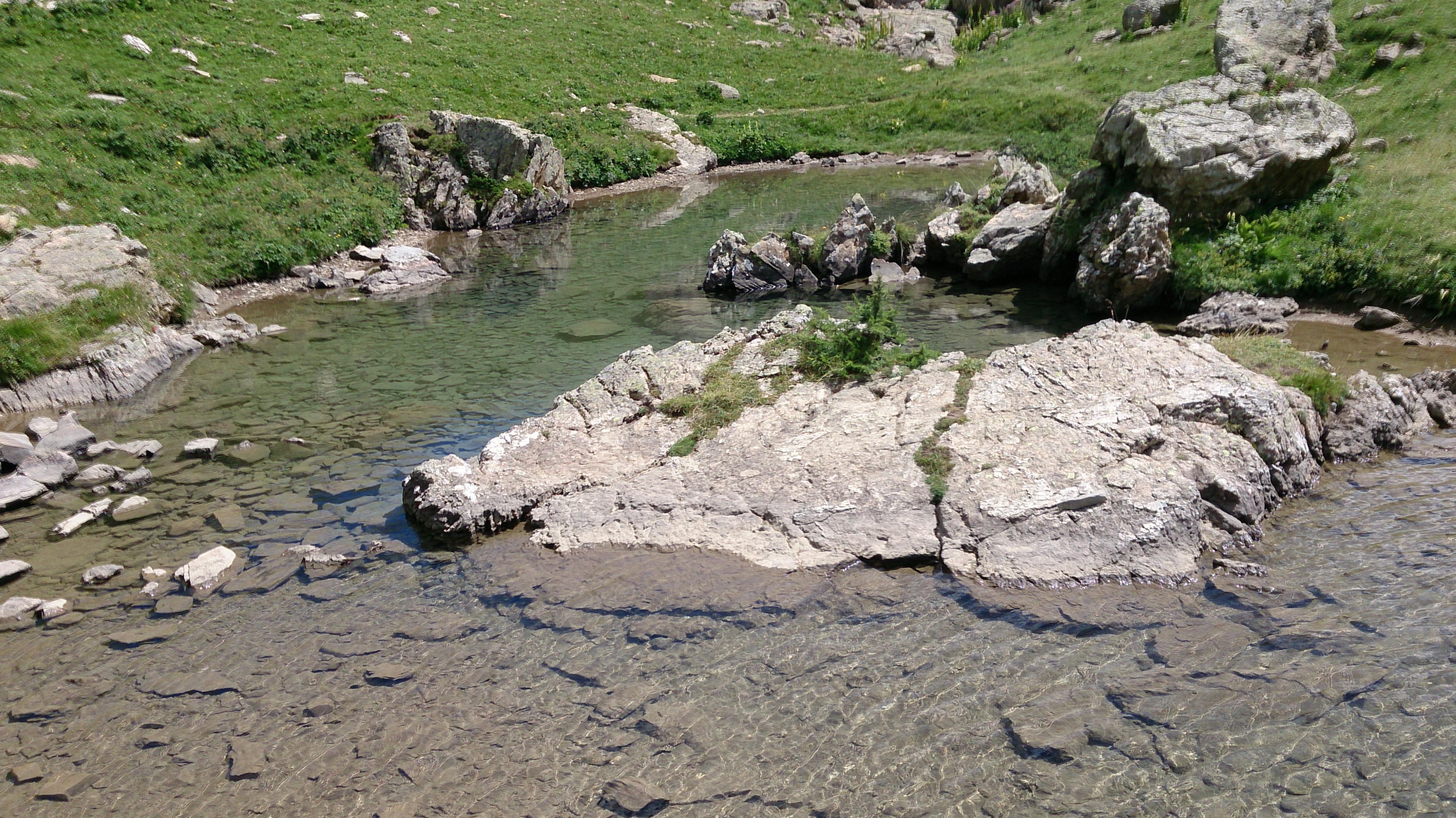 Lac du Crachet -  Lago di montagna