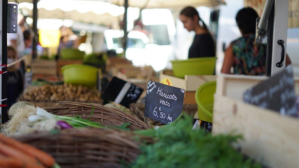 Marché hebdomadaire - Saint-Péray