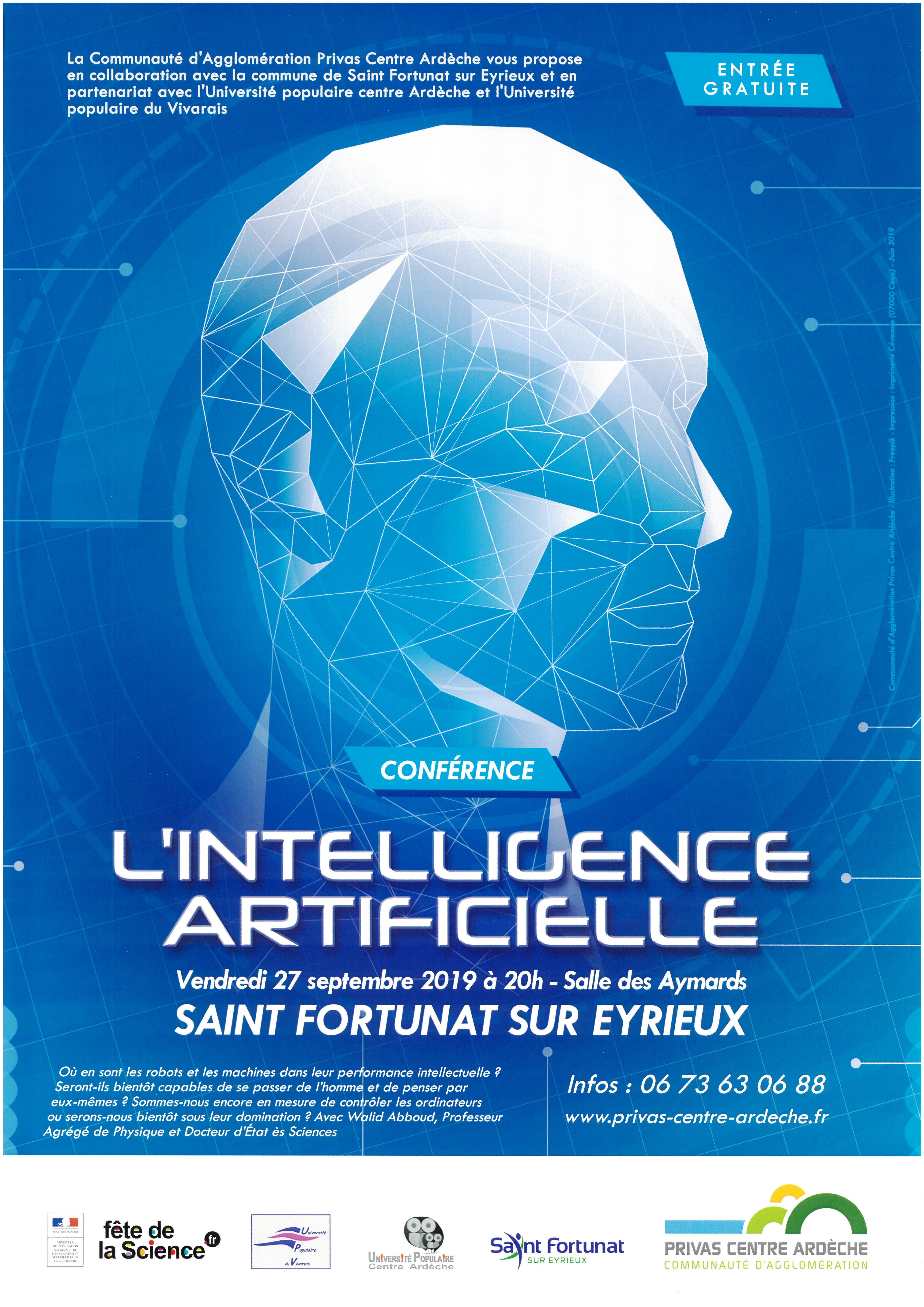 Alle leuke evenementen! : Fête de la science : conférence L'intelligence artificielle