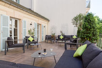 Hotel Les Nations Vichy Terrasse Ⓒ Hôtel les nations