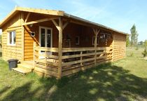 Camping Domaine Sainte-Marie Chalet jaune Ⓒ Site internet - 2020