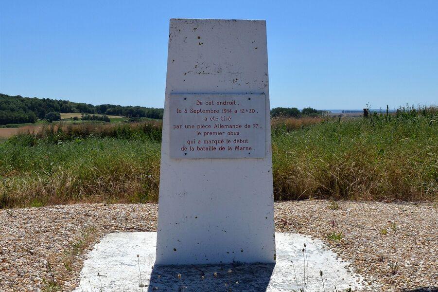 La Saulorette : le premier coup de canon de la Bataille de la Marne