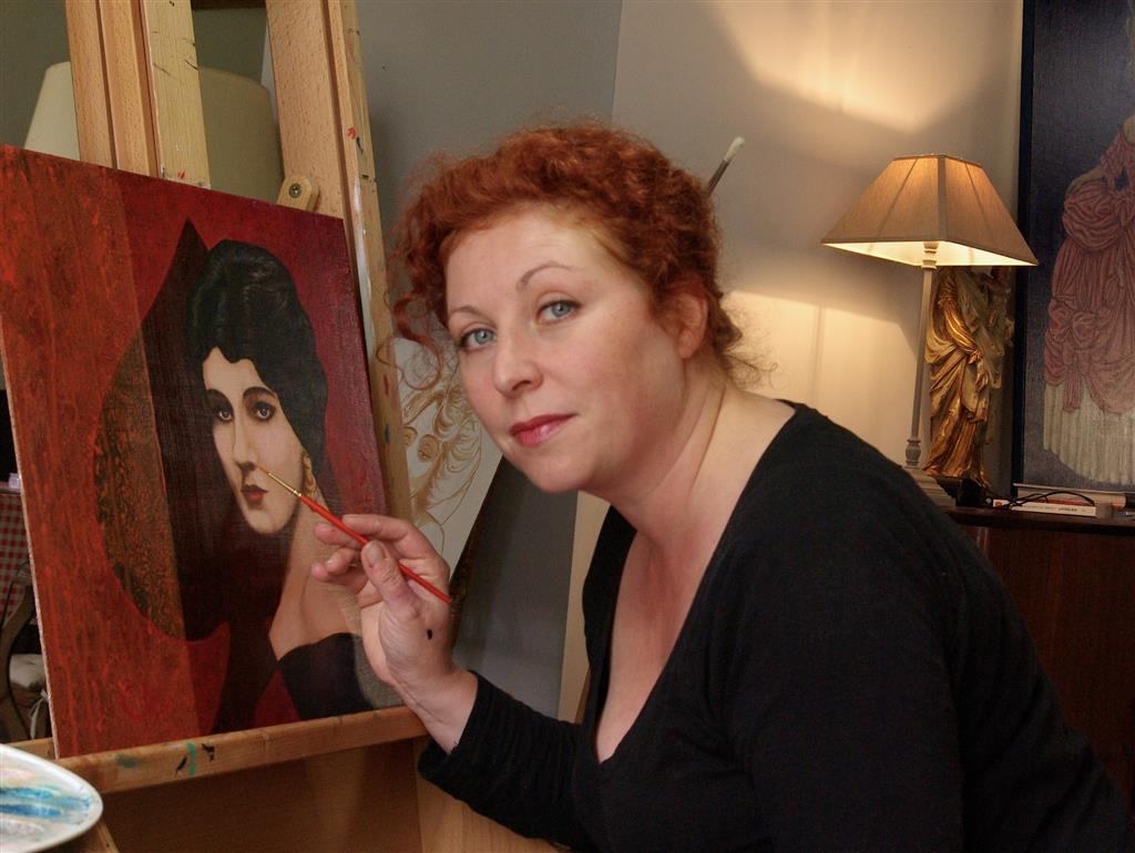 Peinture, dessin, gravure : Céline Excoffon Céline Excoffon Ⓒ Céline Excoffon